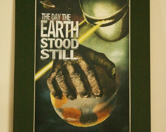 The Day The Earth Stood Still - Mounted print