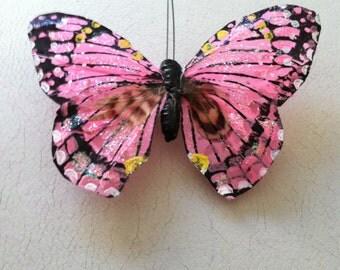 Bellas Glitter Butterfly Barrette
