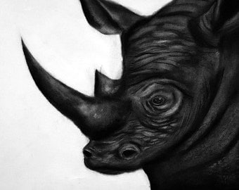 Original Rhino Print