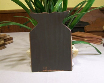 Gray Whale Tail Wooden Board