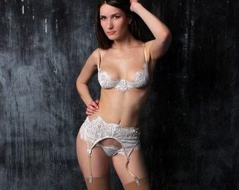 bridal lingerie, bridal lingerie set, wedding lingerie, wedding underwear, honeymoon lingerie, white lingerie, sexy white lingerie