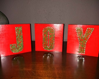 Custom String Art on Wood *JOY