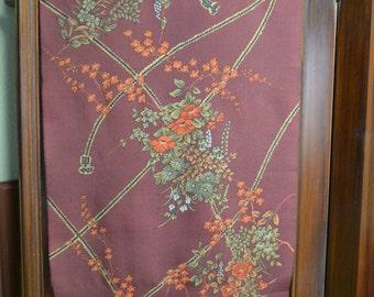 """FUSA HIMO & flowers kimono wool 14.5"""" x 50"""""""
