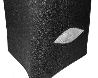 PORTFOLIO design black STINGRAY in SHAGREEN