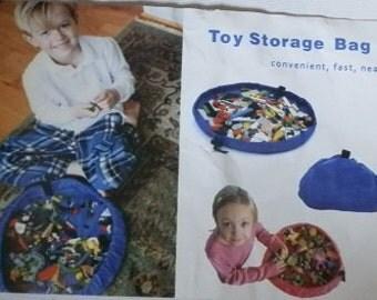 Toy storage bag