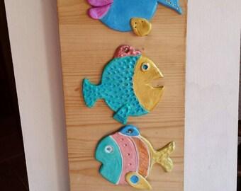 All at sea! Fish, fish ...