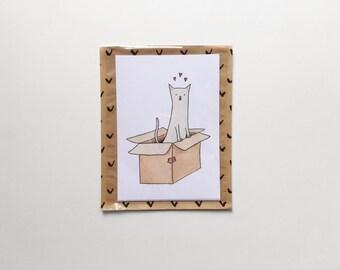 Set of 3 cards/Love/Love cards set//Dear cards//illustration cards Valentines card set love////