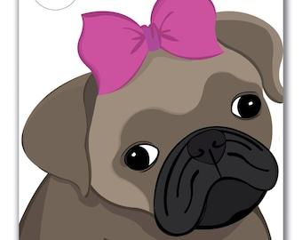 Sweet Puppy Canvas