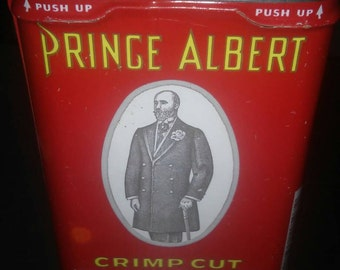 1930'S Prince Albert Tobacco Tin