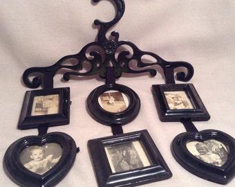 Black multi picture frame