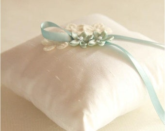 Wedding Pillow Something blue