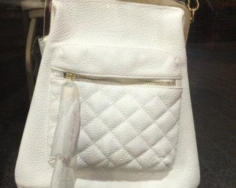 White or Grey purse