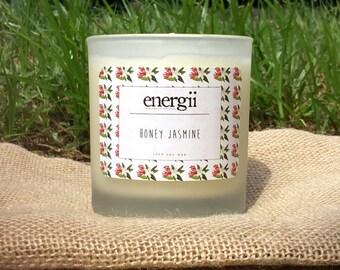 Honey Jasmine Soy Wax Candle