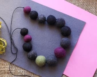 Felt beads mix