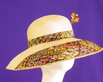 Handmade Women's Multi Color Sun Hat