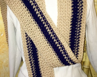 """Handmade scarf- """"on the slopes"""""""