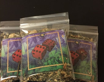 Fast Luck Incense Base / Sachet Powder - Hoodoo / Voodoo / Pagan / Wicca 5g