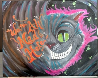 Cheshire Cat Painting!