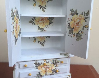 Cottage Rose Cupboard.