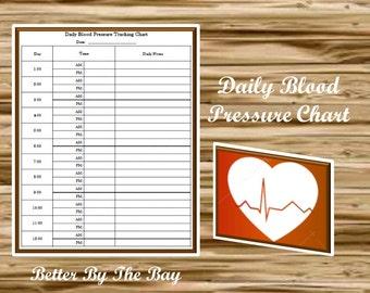 daily blood pressure log