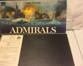 Admirals board game