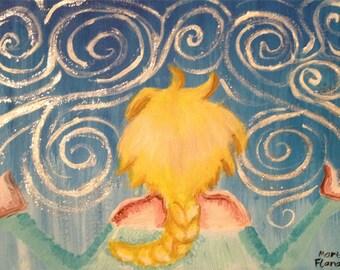 Acrylic Painting Original Painting Queen Elsa