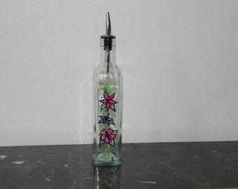 Handpainted Vinegar Bottles