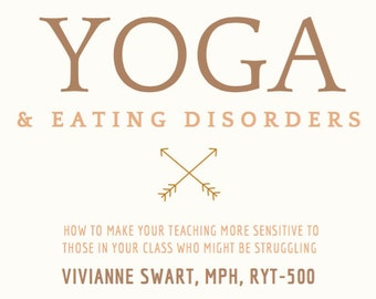 Yoga & Eating Disorders Pamphlet
