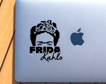 Frida Kahlo's eyes Vinyl Decal - Vinyl stickers - decals