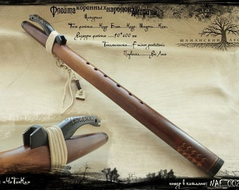 American style native flute, Handmade from SİBERYA, professional