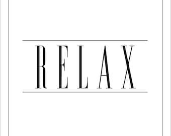 RELAX Print