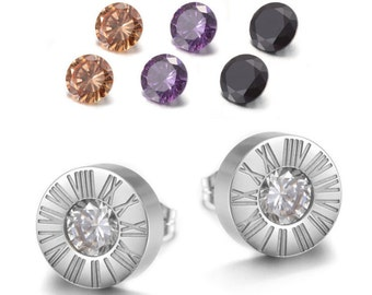 Elegant Interchangeable Earrings