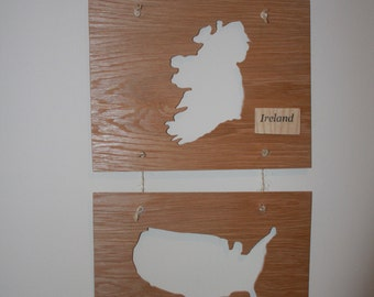 Ireland & America Plaque