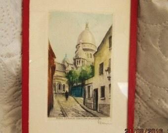 1920'S PARIS PRINT