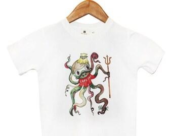Organic Octopus 6T T-Shirt