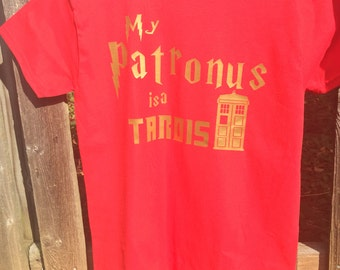 My Patronus is a Tardis Shirt