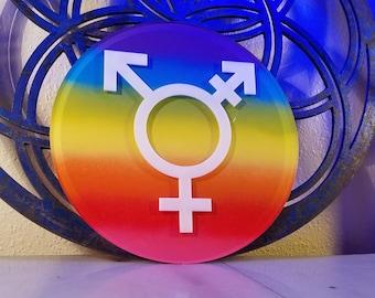 """11"""" Gender Neutral Bathroom Sign"""