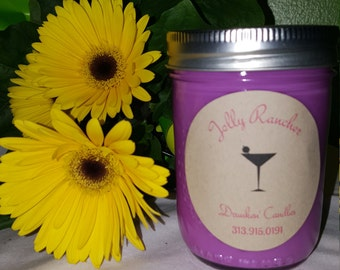 Jolly Rancher Soy Candle