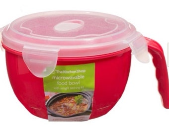 Portable Food Bowl with Handle