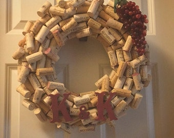 Personalized Wreath with Initials