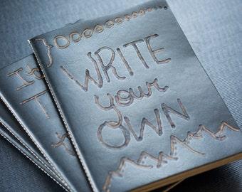 Repurposed Leather Notebook