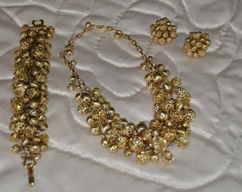 3 Pc. Beautiful Gold set