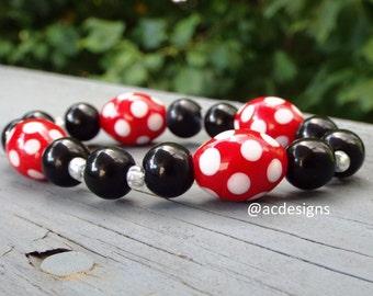 Pokadot Mouse Bracelet
