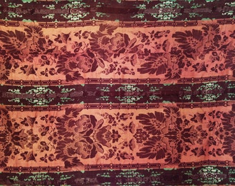 Elegant 19th Century Woven Embroidery