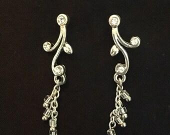 Branch dangle earrings