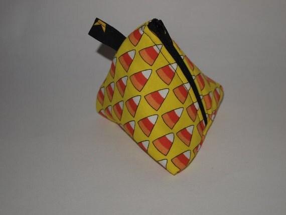 Candy Corn Triangle Bag
