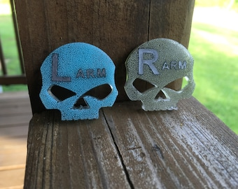 X-ray Markers, Skull, Select Your Colors, Microbead