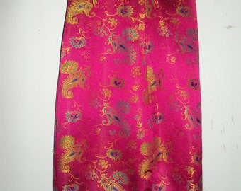 Vintage Evening Wear 1990s Asian Inspired Pants ABS Evening by Alan Schwartz