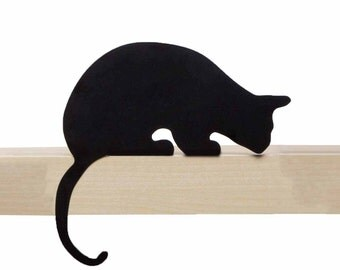 Cat's Meow - Sherlock - decorative cat silhouette by Artori Design