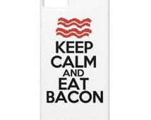 Keep Calm/Eat Bacon Phone Case